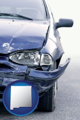 nm an automobile accident, hopefully covered by insurance