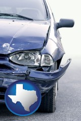 tx an automobile accident, hopefully covered by insurance